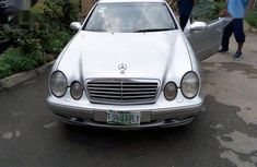 Mercedes-Benz CLK 55 AMG Coupe 2004 Silverfor sale