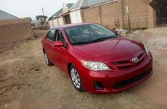 Toyota Corolla 2014 Red for sale