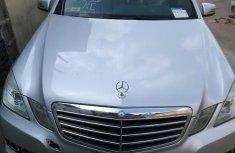 Mercedes-Benz E350 2010 Silver color for sale