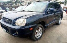 Hyundai Santa Fe 2002 Blue for sale