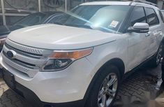 Ford Explorer 2013 White for sale