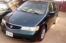 Honda Odyssey 2002 Green for sale