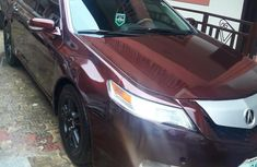 Acura TL 2012 SH-AWD Automatic Red for sale