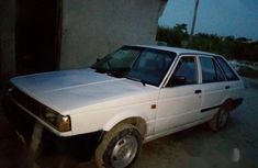 Nissan Sunny 1986 White for sale