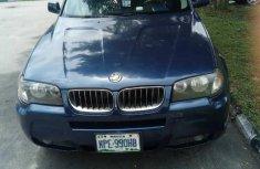 BMW X3 2016 Blue for sale
