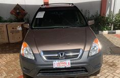 Honda CR-V EX 4WD Automatic 2003 Gold for sale