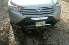 Toyota Highlander 2012 Limited Silver for sale
