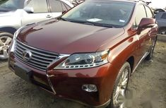 Lexus Rx350 2013 Red automatic for sale