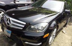 Mercedes-Benz C350 2012 Black