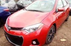 Toyota Corolla 2014 Redfor sale