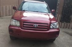 Toyota Highlander 04 for sale