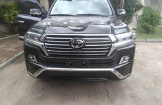 Toyota Land Cruiser 2012 Black color for sale
