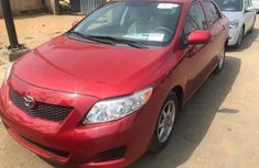 Toyota Corolla 2011 Red
