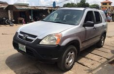 Honda CR-V 2003 Silver for sale