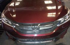 Neatly used Honda Accord 2016 Red color for sale