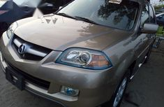 Acura ZDX 2006 Gold