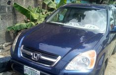 Honda CR-V EX 4WD Automatic 2003 Blue for sale
