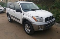 Toyota RAV4 Automatic 2002 White for sale