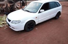 Mazda 323 2003 White for sale