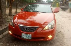 Clean nigeria use Toyota Solara 2005 Red color for sale