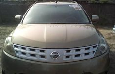 Nissan Murano SE AWD 2005 Gold for sale