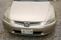 Honda Accord 2003 Gold color for sale