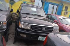 Toyota Land Cruiser 2003 Black for sale