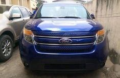 Ford Explorer 2013 Blue for sale