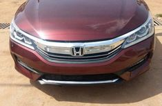 Honda Accord 2017 Red for sale
