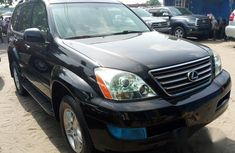 Lexus GX 2009 Black for sale