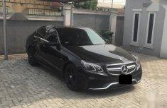Mercedes-Benz E350 2014 Black for sale