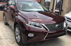 Lexus RX 350 AWD 2013 Red for sale
