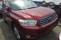 Toyota Highlander 2011 Limited Redfor sale
