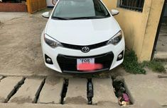 Toyota Corolla 2016 White for sale