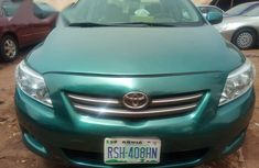 Toyota Corolla 2010 Green for sale
