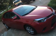 Very clean American Used Toyota Corolla 2014 Red color for sale