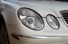Mercedes-Benz E320 2003 White for sale