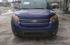 Ford Explorer 2013 Blue for sale