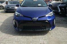 Toyota Corolla 2018 SE (1.8L 4cyl 2A) Blue for sale