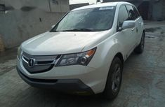 Extraordinary neat and clean Acura MDX 2008 White color for sale