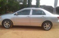 Toyota Corolla 2005 Silver for sale