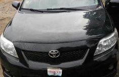 Toyota Corolla 2009 Black for sale