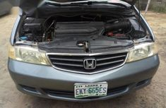 Good Automatic transmission Honda Odyssey 2003 Gray color for sale