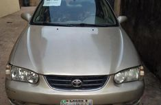 Toyota Corolla 1999 Gold for sale