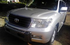 2008 Toyota Land Cruiser Silver for sale