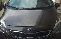Kia Rio 2014 Brown  for sale