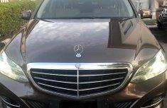 Mercedes-Benz E200 2014 Brown for sale