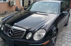 Mercedes-Benz E350 2008 Black for sale