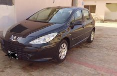 Peugeot 307 2005 1.4 Black for sale