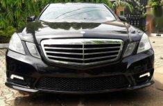 Direct Tokunbo Mercedes-Benz E350 2010 Black color for sale